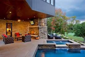 patio with pool. Fine Patio Even The Most Basic Outdoor Space Depending On Your Budget And  Maintenance Threshold You Can Opt For A Hot Tub Pool To Complement Throughout Patio With Pool F