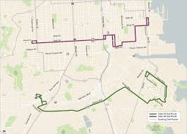 muni forward two new owl routes launch this weekend sfmta Map Bus Route San Francisco map of san francisco showing 44 and 48 owl routes san francisco muni bus route map