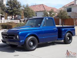 1967 chevy c10 step side short bed pick up truck photo