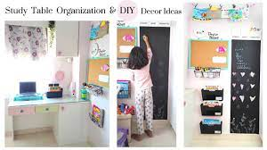 tips on how to organize study table