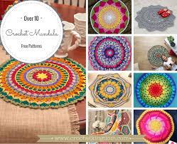 Free Crochet Mandala Pattern Magnificent 48 Free Crochet Mandala Patterns ⋆ Crochet Kingdom