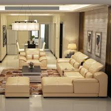 2014 new dubai furniture sectional luxury and modern corner leather