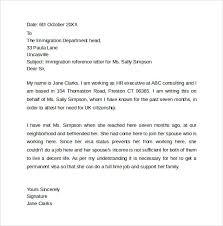 Personal Recommendation Letter For Immigration Magdalene
