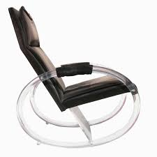 charles hollis jones lucite rocking chair