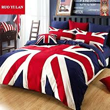 british flag comforter set cotton union jack duvet cover set the union flag pillowcase bed sheet british flag comforter set