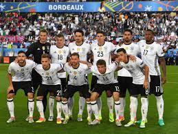 Die partie gegen frankreich ist bei den fans bisher. Em 2016 Die Offizielle Aufstellung Von Deutschland Gegen Frankreich Heute Fussball Em
