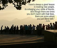 Meeting New People Quotes Mesmerizing Friendship Quotes Luchesi