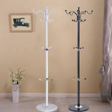 Hangmax Coat Stand Coathatjacketumbrella Floor Standing Rack Clothes Hanger Hooks Ebay Clothes Hanger Stand Ebay