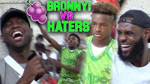 LeBron & Dwyane Wade WATCH Bronny Jr vs SH*T TALKING ...