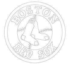 Small Picture Boston Red Sox Coloring Pages Coloring Home