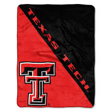texas tech multi color polyester halftone micro blanket