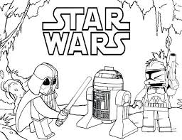 Storm Trooper Coloring Pages Printable Star Wars Colouring Pages