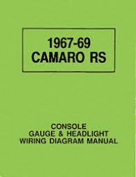 wiring diagram manual camaro rs 1967 1969 camaro part number wiring diagram manual camaro rs 1967 1969