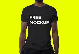 Mock Up Tshirt Male Model T Shirt Mockup Mockupworld