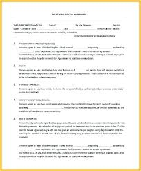 Beautiful Photograph Of Commercial Lease Abstract Template