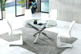 round glass dining table set for 4 modern round glass dining table round glass dining table