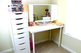 diy corner makeup vanity. Corner Table Ideas Vanity Fantastic Small With Makeup Diy