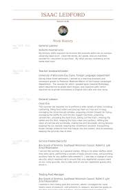 General Labor Resume Samples Visualcv Resume Samples Database
