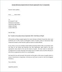 Disciplinary Appeal Letter Template Academic Dismissal Outcome