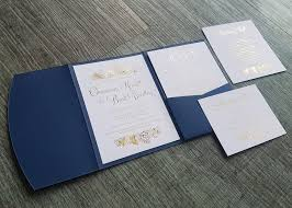 Wedding Invitation Folder Pocketfold Envelopes Nz Made Pinc