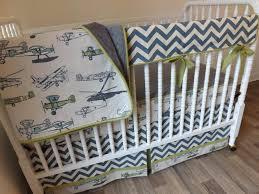 inspiring airplane nursery bedding thenurseries vintage airplane crib bedding