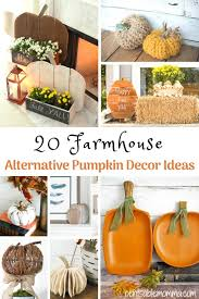 create your own farmhouse decorations perfect for fall and thanksgiving with these 20