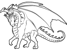Free Dragon Coloring Pages At Getdrawingscom Free For Personal