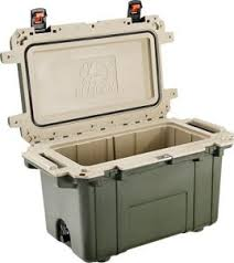 roto molded cooler. pelican elite most durable cooler roto molded p