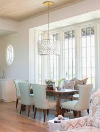 brushed nickel dining room light fixtures inspirations dining rooms with drum lighting