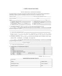 Auto Repair Form Template Impressive Vehicle Request Form Template Maintenance Repair