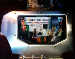 accessing the cabin fuse box on an aston martin db9 aston 1936 aston martin db9 cabin fusebox