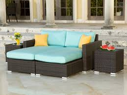 patio chaise lounge. Patio Chaise Lounge Source Outdoor Lucaya Wicker 4 Piece Sectional Set Elegant Design