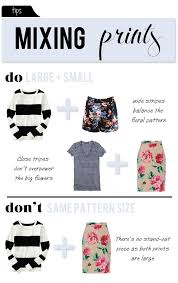 Pattern Mixing Adorable Tips For Mixing Patterns And Prints Mix Large Prints With Small
