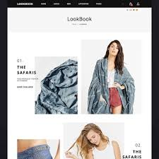 lookbook fashion responsive