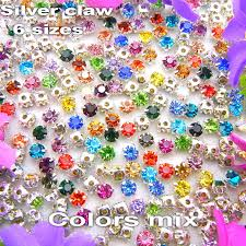 <b>Factory</b> direct sale nice colors mix 6 sizes round shape glass Crystal ...