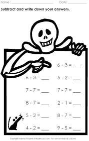 Free halloween math worksheets worksheets for all download and ...