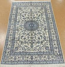 ivory oriental rug hand knotted wool silk ivory blue fine new oriental rug 7 x ivory oriental area rugs