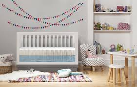 amazoncom  babyletto harlow in convertible crib white with