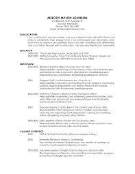 Graduate School Application Resume Examples Resume Templates