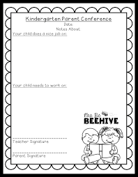 student conference form parent conference form freebie mrs b s beehive