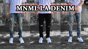 la size best affordable jeans mnml la denim detailed looks on body