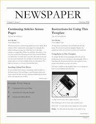 Newspaper Template Free Google Docs Free Newspaper Template Google Docs Of Newspaper Template