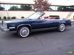 1984 Midnight Blue Firemist Metallic Cadillac Eldorado Biarritz ...