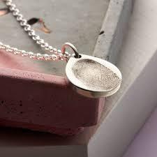 original sterling silver fingerprint teardrop necklace jpg