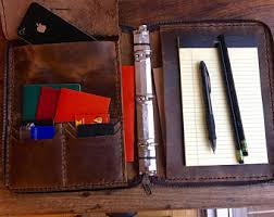 three rings office. zippered leather padfolio small three ring binder 3 folder planners and rings office