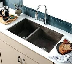 concrete farmhouse sink. Concrete Farmhouse Sink Slate Photo 5 Of 9 Double Bowl Kitchen In .