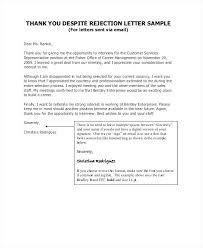 Interview Invitation Letter Thank You Letter After A Bad Interview