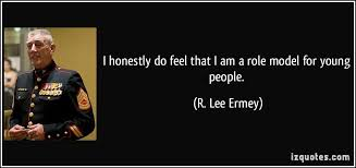 Model Quotes 59 Stunning I Honestly Do Feel That I Am A Role Model For Young People
