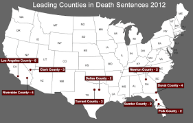 arbitrariness death penalty information center map