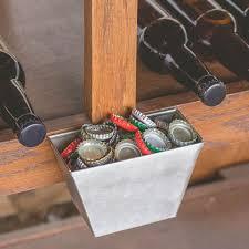 Beer Bottle Cap Catcher - Stainless Steel